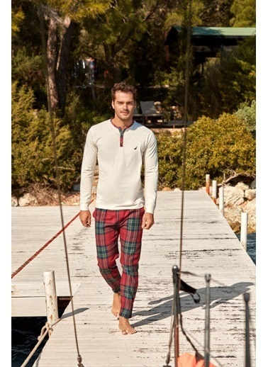 Nautica Pijama Takım Kırmızı